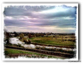 The view from the Gallows Hill, Deva.