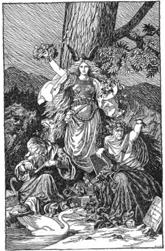 The Norns by H.L.M